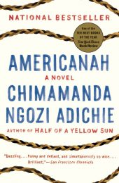 One of our recommended books is Americanah by Chimamanda Ngozi Adichie
