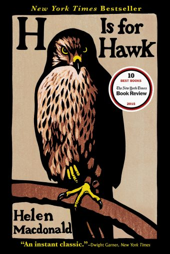 One of our recommended books is H Is for Hawk by Helen MacDonald