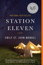 One of our recommended books is Station Eleven by Emily St. John Mandel