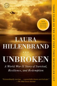 One of our recommended books is Unbroken by Laura Hillenbrand