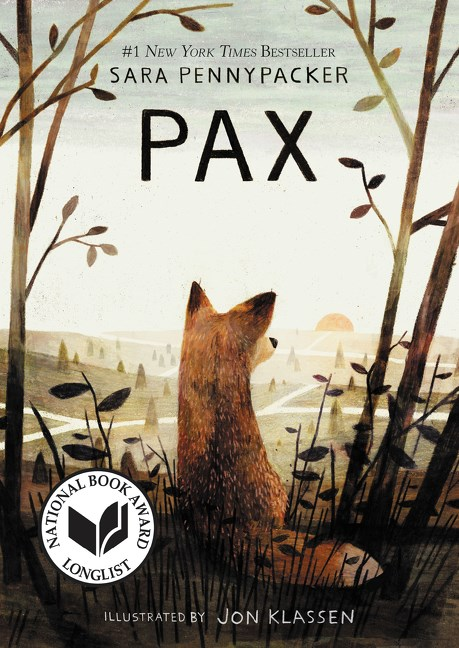 One of our recommended books for 2019 is Pax by Sara Pennypacker and Jon Klassen