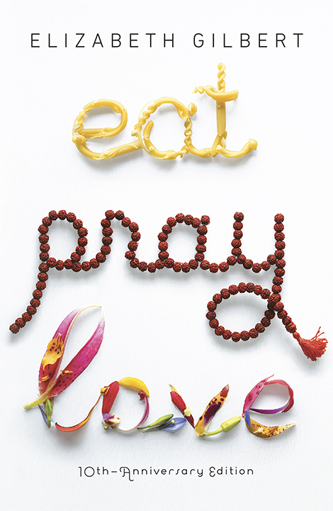 One of our recommended books is Eat Pray Love by Elizabeth Gilbert