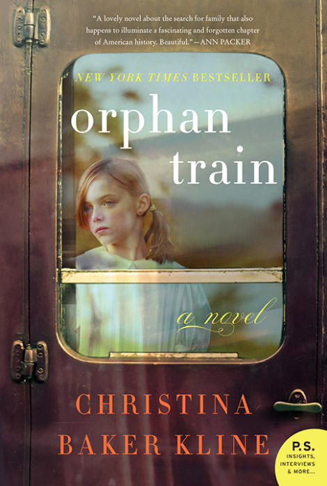 One of our recommended books is Orphan Train by Christina Baker Kline