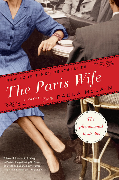 One of our recommended books for 2013 is The Paris Wife by Paula McClain