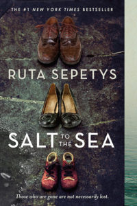 One of our recommended books is Salt To The Sea by Ruta Sepetys