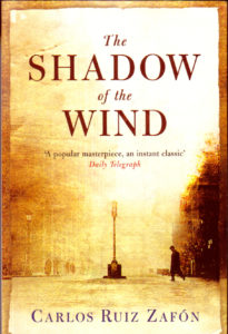 One of our recommended books is The Shadow of the Wind by Carlos Ruiz Zafon