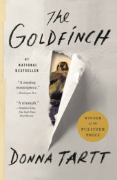 One of our recommended books is The Goldfinch by Donna Tartt