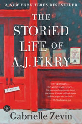 One of our recommended books is The Storied Life of A.J. Fikry by Gabrielle Zevin