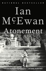 One of our recommended books is Atonement by Ian McEwan
