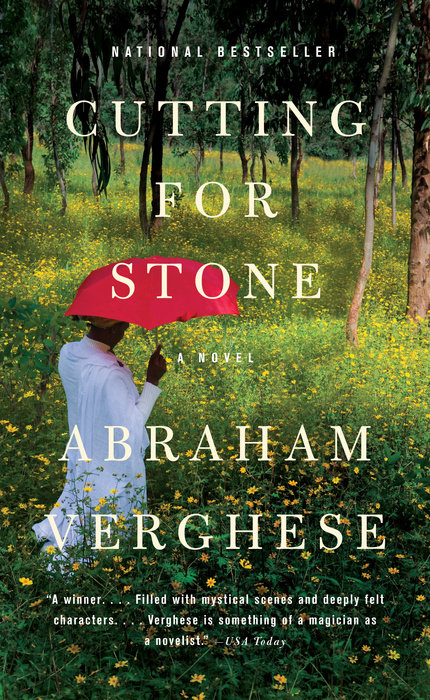 One of our recommended books is Cutting for Stone by Abraham Verghese
