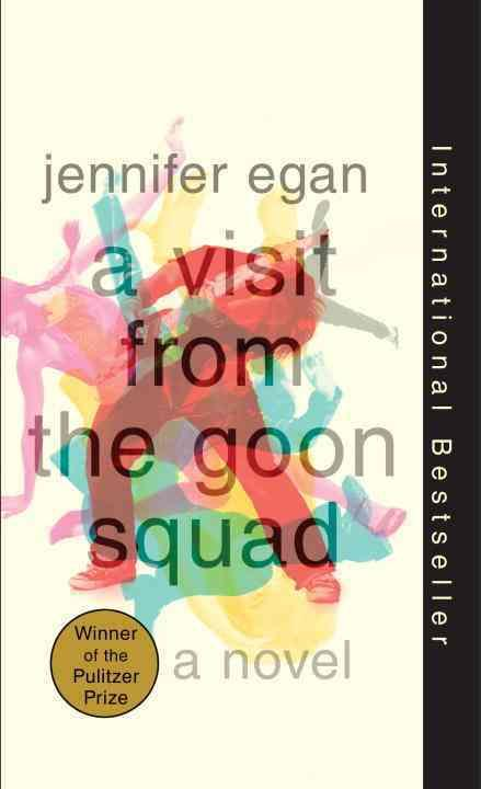 One of our recommended books is A Visit From The Goon Squad by Jennifer Egan