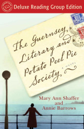 One of our recommended books is The Guernsey Literary and Potato Peel Pie Society by Mary Ann Shaffer & Annie Barrows