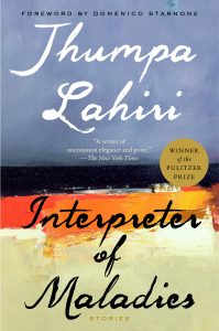 One of our recommended books is The Interpreter of Maladies by Jhumpa Lahiri