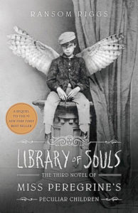 One of our recommended books is Library of Souls by Ransom Riggs