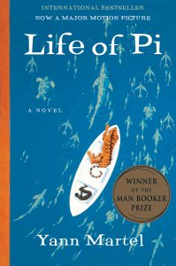 One of our recommended books is Life of Pi by Yann Martel