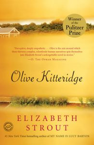 One of our recommended books is Olive Kitteridge by Elizabeth Strout
