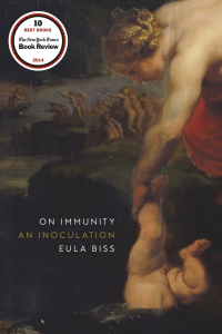 One of our recommended books is On Immunity by Eula Biss