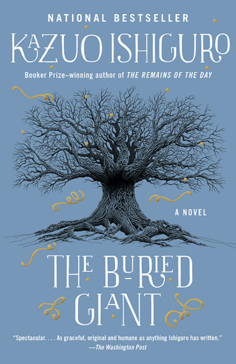 One of our recommended books for 2017 is The Buried Giant by Kazuo Ishiguro