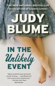 One of our recommended books for 2017 is In The Unlikely Event by Judy Blume