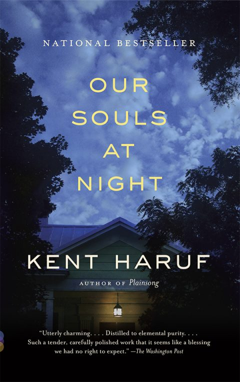 One of our recommended books for 2017 is Our Souls at Night by Kent Haruf