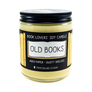 Old Books Soy Candle
