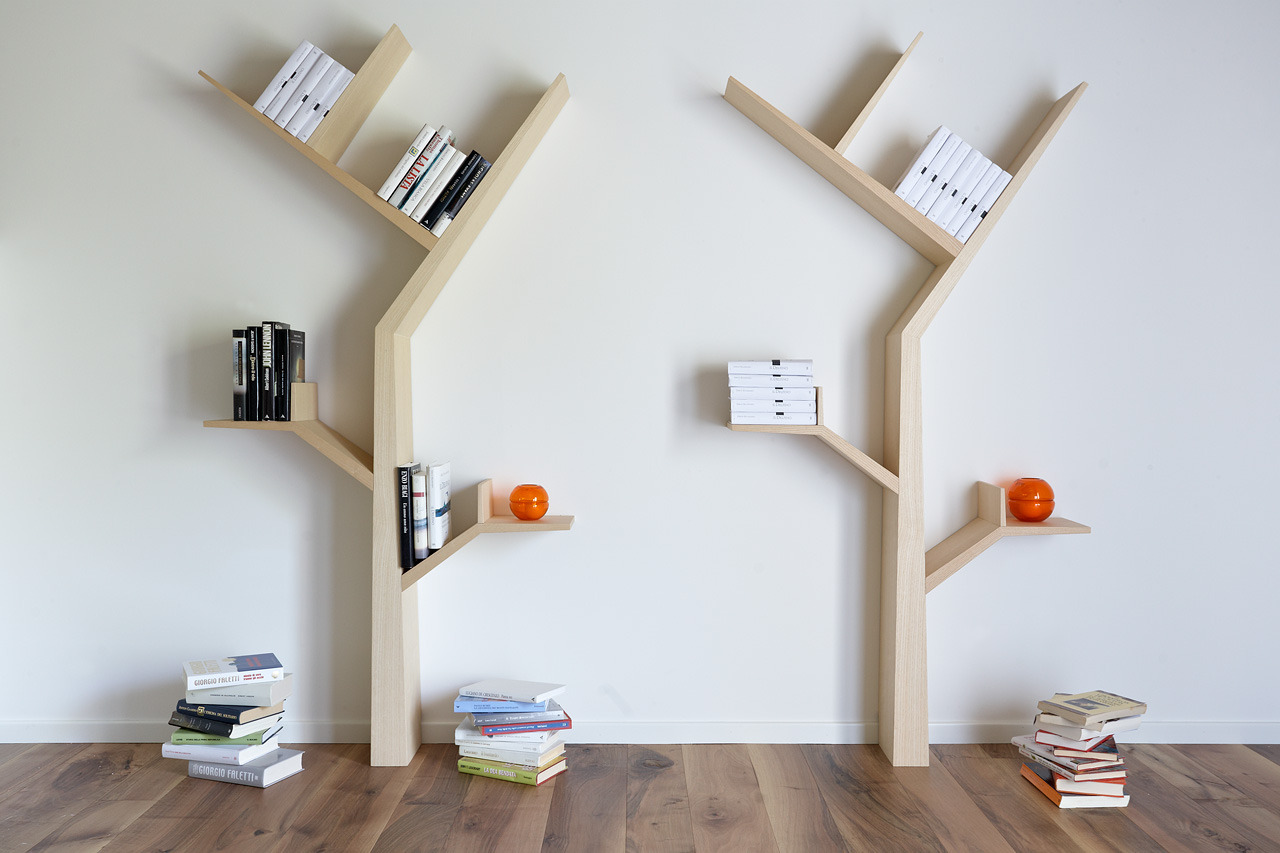 Domestic Tree Bookshelves