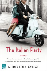 One of our recommended books for January 2019 is The Italian Party by Christina Lynch
