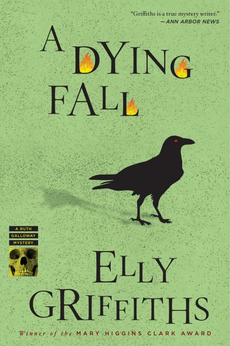 One of our recommended books is A Dying Fall by Elly Griffiths
