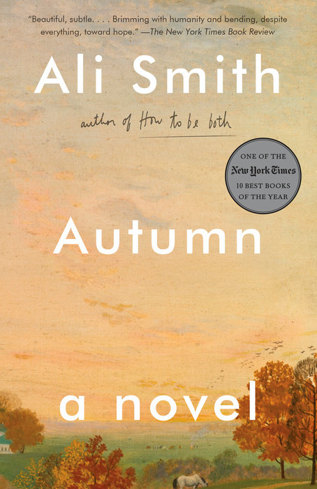 One of our recommended books is Autumn by Ali Smith