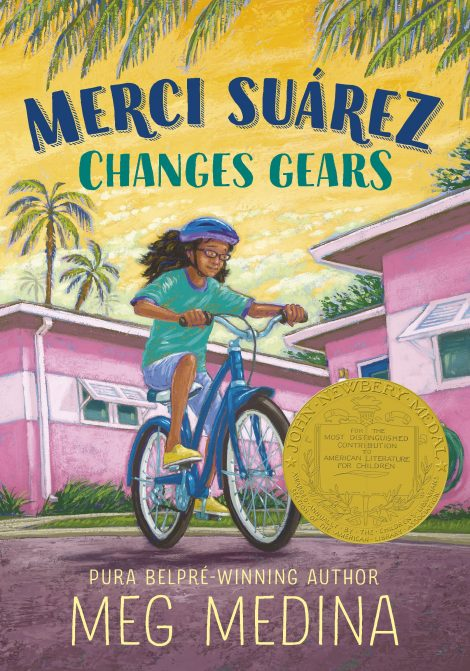 One of our recommended books for 2019 is Merci Suarez Changes Gears by Meg Medina