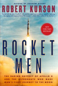 One of our recommended books is Rocket Men by Robert Kurson