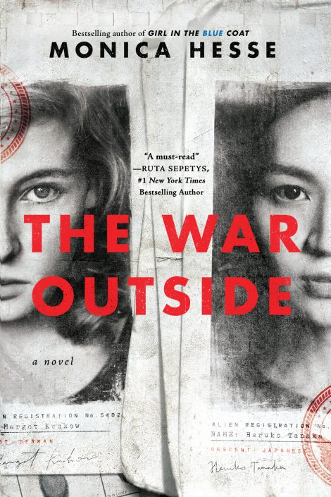 One of our recommended books for 2019 is The War Outside by Monica Hesse
