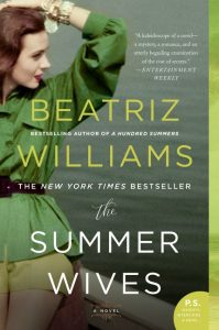 One of our recommended books for 2019 is The Summer Wives by Beatriz Williams