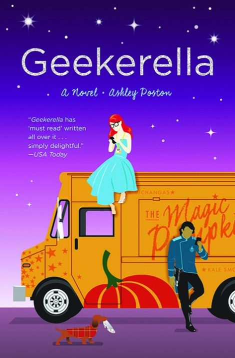 Geekerella by Ashley Poston is one of our book group favorites for 2018