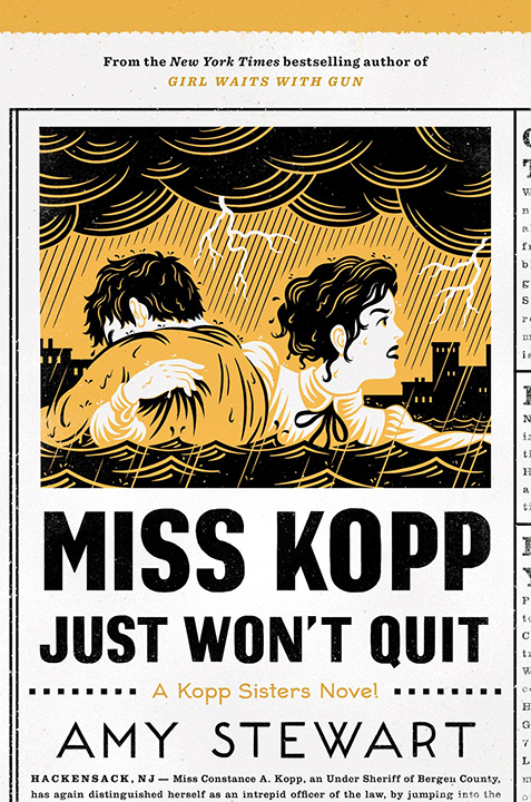 One of our recommended books is Miss Kopp Just Won't Quit by Amy Stewart