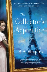 One of our recommended books for 2019 is The Collector's Apprentice by B.A. Shapiro.