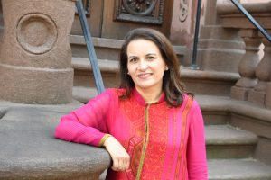 Sujata Massey is the author of The Widows of Malabar Hill, credit Jim Burger