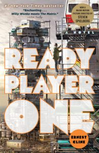 One of our recommended books is Ready Player One by Ernest Cline
