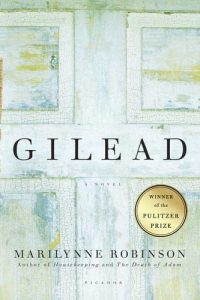 One of our recommended books is Gilead by Marilynne Robinson