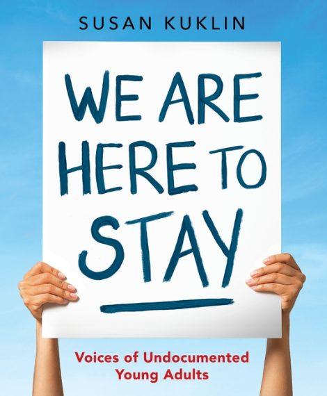 One of our recommended books for 2019 is WE ARE HERE TO STAY by Susan Kuklin