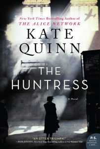 One of our recommended books for 2019 is The Huntress by Kate Quinn.