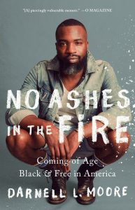 One of our recommended books for January 2019 is No Ashes in the Fire.