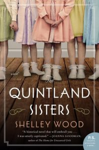 One of our recommended books for 2019 is The Quintland Sisters by Shelley Wood
