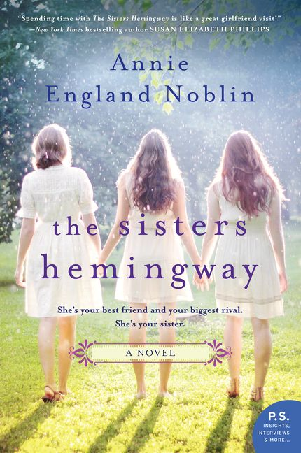 One of our recommended books for 2019 is The Sisters Hemingway by Annie England Noblin