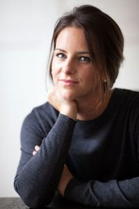 Claire Gibson is the author of Beyond the Point, credit Lindsey Rome