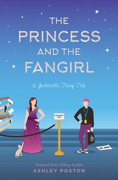 One of our recommended books for 2019 is Princess and the Fangirl by Ashley Poston