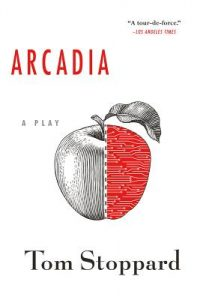 One of our recommended books is Arcadia by Tom Stoppard