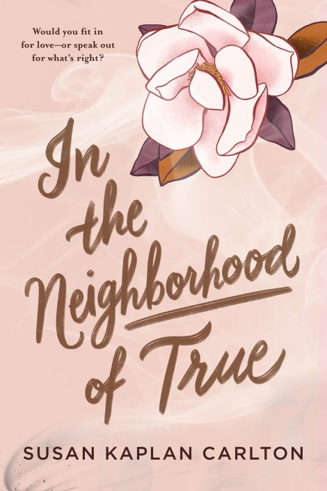 One of our recommended books is In the Neighborhood of True by Susan Kaplan Carlton