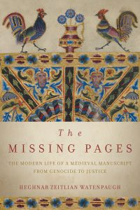 One of our recommended books for 2019 is The Missing Pages by Heghnar Zeitlian Watenpaugh