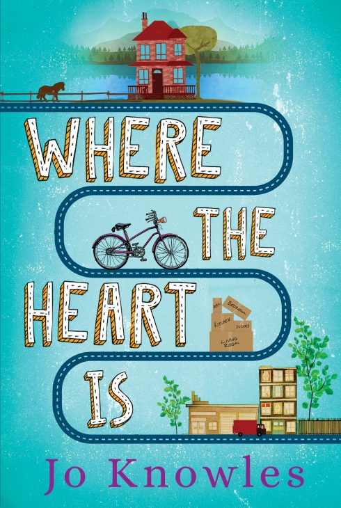 One of our recommended books for 2019 is Where the Heart Is by Jo Knowles